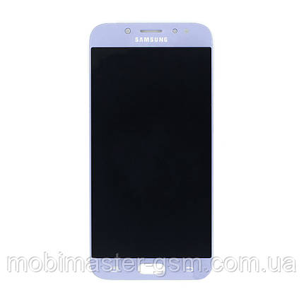 Дисплейный модуль Samsung J7 2017 J730F blue, фото 2