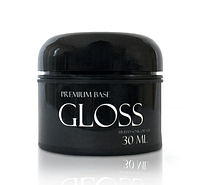 Gloss Premium Base – каучуковое базовое покрытие для гель-лака, 30мл