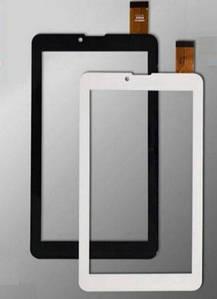 "Cенсор (Тачскрин) для планшета 7"" Pixus Play Three V2.0 | V4.0 3G (185x104mm) 30pin (Белый) Оригинал Китай"