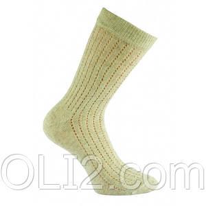 Носки мужские лен высокий летние