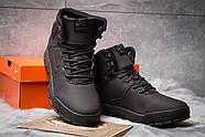 Зимние мужские ботинки 30522, Nike LunRidge, коричневые ( 42  ), фото 3