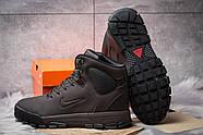 Зимние мужские ботинки 30522, Nike LunRidge, коричневые ( 42  ), фото 4