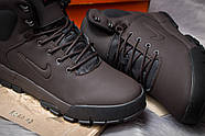 Зимние мужские ботинки 30522, Nike LunRidge, коричневые ( 42  ), фото 6
