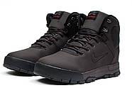 Зимние мужские ботинки 30522, Nike LunRidge, коричневые ( 42  ), фото 7