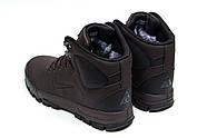 Зимние мужские ботинки 30522, Nike LunRidge, коричневые ( 42  ), фото 8