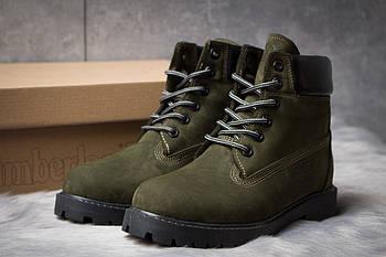 Зимние женские ботинки 30662, Timberland 6 Premium Boot, хаки ( 36  )