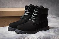 Зимние ботинки  на мехуTimberland 6 Premium Boot, черные (30666) размеры в наличии ► [  36 (последняя пара)  ]