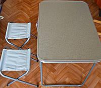 Набор мебели алюминиевый для пикника на 2 стула, фото 1
