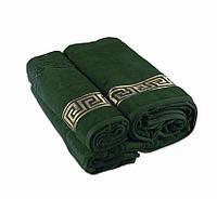 Полотенце махровое Versace зеленое