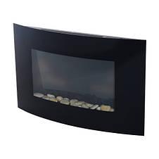 Электрокамин FIRESTYLE  LED GLASS 1000/2000 Вт черный, фото 3