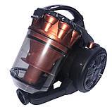 Пылесос вакуумный Blumberg DM-1602 мощность 3500 Вт контейнерный без мешка, фото 4
