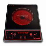 Настольная Инфракрасная плита стеклокерамическая плита WX 1322 Wimpex, фото 3