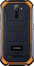"""Смартфон Doogee S40 3/32GB Dual Sim Fire Orange; 5.5"""" (960х480) IPS / MediaTek MT6739 / ОЗУ 3 ГБ / 32 ГБ встроенной + microSD до 32 ГБ / камера 8+5 Мп, фото 3"""