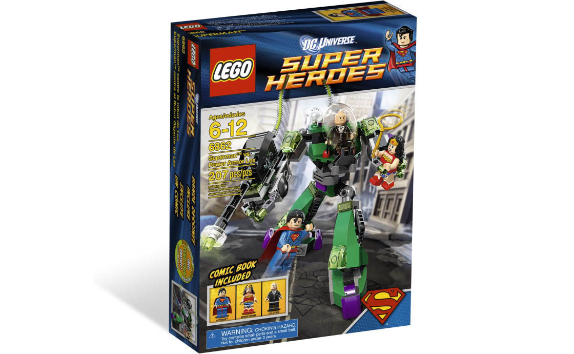 LEGO Super Heroes Супермен против робота Лекса