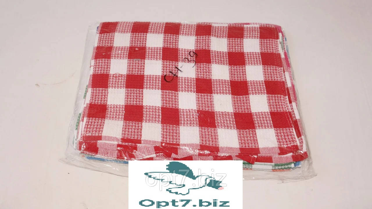 Полотенце кухонное вафельное 40*60 см (от 12 шт)