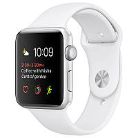 Смарт-часы Apple Watch Series 1 42mm Silver Aluminum Case with White Sport Band (MNNL2)