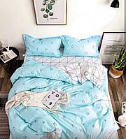 Комплект постельного белья Наша Швейка Сатин (855564580022) Двуспальный 180 х 215 см