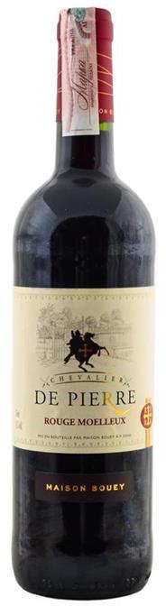 Вино красное полусладкое DE PIERRE   0,75 л Франция