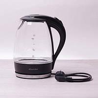 Чайник 1.7 л електричний з синім LED підсвічуванням, фото 1