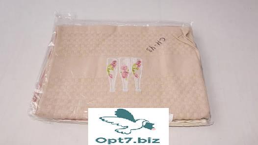 Полотенце кухонное вафельное 40*60 см (от 12 шт), фото 2