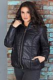 Женская короткая легкая куртка с капюшоном (6расцв). 46-56р., фото 10