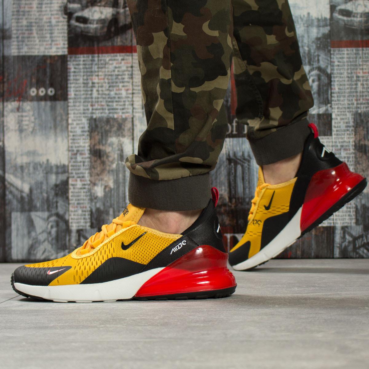 Кроссовки мужские Nike Air 270, желтые (16063) размеры в наличии ► [  41 (последняя пара)  ]