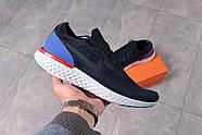 Кроссовки мужские 16101, Nike Epic React, темно-синие ( 41 42 43 44 45 46  ), фото 7