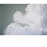 Елка белая искусственная ПВХ 130 см, фото 2