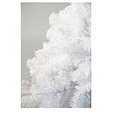 Елка белая искусственная ПВХ 130 см, фото 3