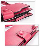Стильный женский кошелек, клатч Baellerry Business Woman New, балери. Розовый, фото 3