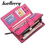 Стильный женский кошелек, клатч Baellerry Business Woman New, балери. Розовый, фото 5