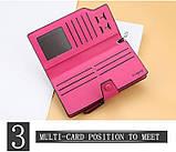 Стильный женский кошелек, клатч Baellerry Business Woman New, балери. Розовый, фото 7