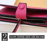 Стильный женский кошелек, клатч Baellerry Business Woman New, балери. Розовый, фото 8