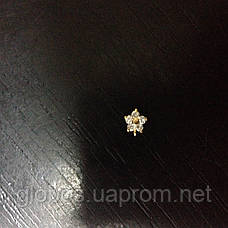 Подвески , пирсинг для ногтей IЕA-08 Gold, фото 3