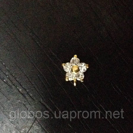 Подвески , пирсинг для ногтей IЕA-08 Gold, фото 2