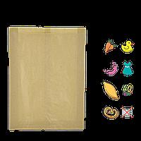 Бумажный пакет без ручек крафтовый 360х220х50мм (ВхШхГ) 40г/м² 100шт (911)
