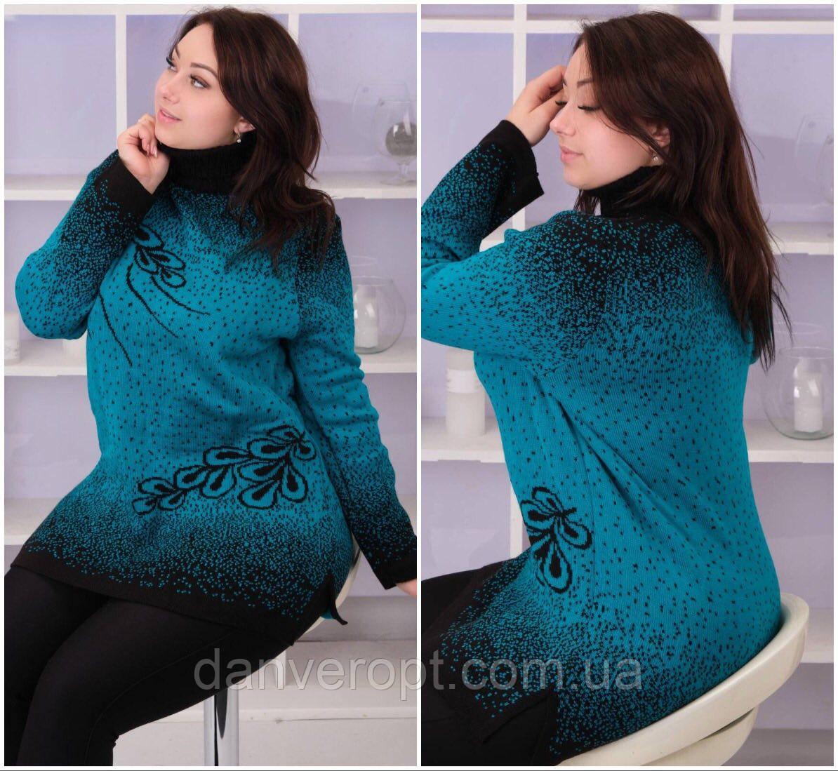 Туника женская модная стильная размер универсальный 54-58 купить оптом со склада 7км Одесса