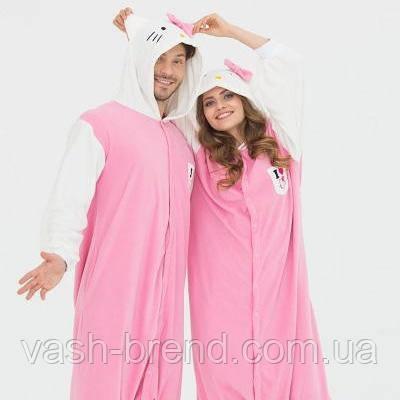 Пижама Кигуруми Kitty для всей семьи от Украинского производителя