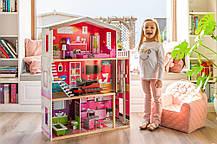 Ігровий ляльковий будиночок для барбі Ecotoys 4118 Malibu + ліфт, фото 3