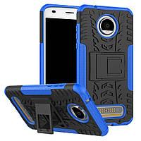 Чехол Armor Case для Motorola Moto Z2 Play XT1710 Синий