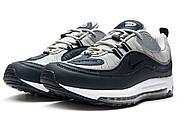 Кроссовки мужские 12674, Nike Aimax Supreme, темно-синие ( 42  ), фото 7
