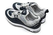 Кроссовки мужские 12674, Nike Aimax Supreme, темно-синие ( 42  ), фото 8