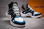 Кроссовки женские 13454, Louis Vuitton Archlight, темно-синие ( 37 38  ), фото 5