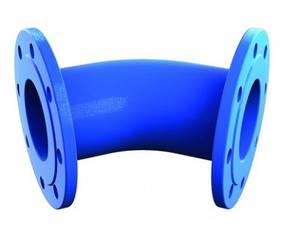 Чавунне коліно фланцеве 45°
