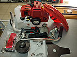Бензокоса Минск МТЗ МБТ-7700 Металлический Нож + Шпуля с Леской в Комплекте, фото 3
