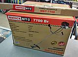 Бензокоса Минск МТЗ МБТ-7700 Металлический Нож + Шпуля с Леской в Комплекте, фото 4