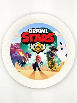 """Brawl Stars"" - Тарелки 18 см."