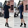 Платье женское стильное вязаное размер универсальный 44-52 купить оптом со склада 7км Одесса, фото 4