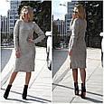 Платье женское стильное вязаное размер универсальный 44-52 купить оптом со склада 7км Одесса, фото 5