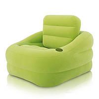 Надувное кресло Intex 68586 Зеленое, фото 1